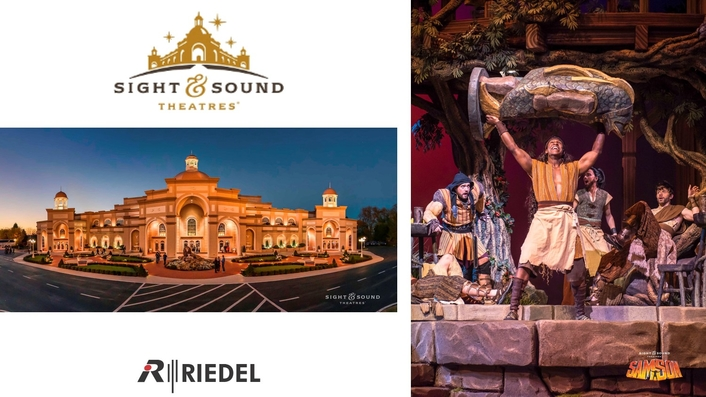 Riedel's Bolero and Artist Enable Seamless Communications for Sight & Sound Theatres Epic Biblical Productions