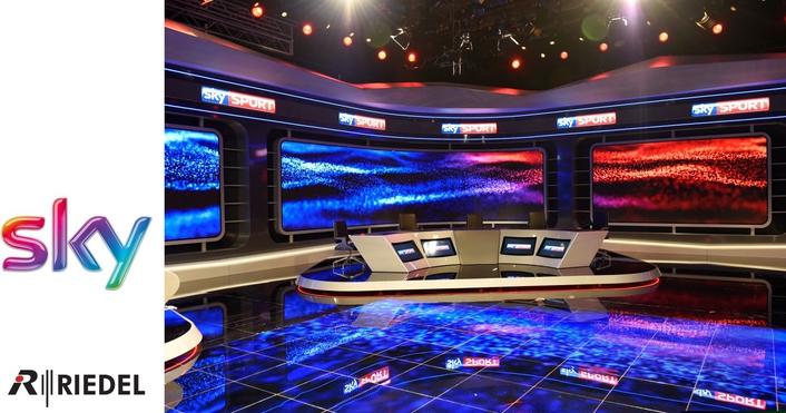 Sky HQ Riedel MediorNet
