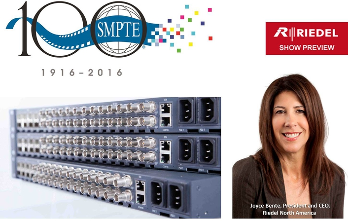 Riedel Products at SMPTE 2016