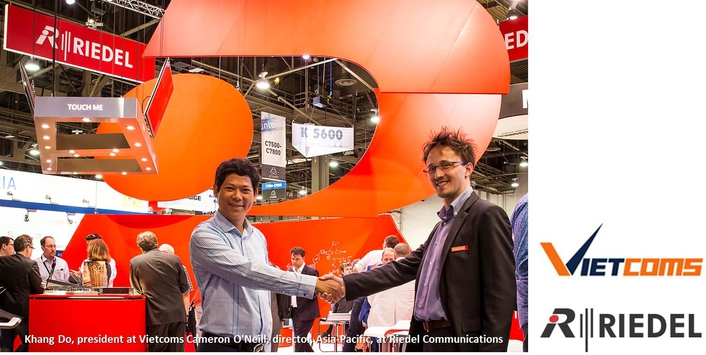 Riedel Communications Inks Integration and Distribution Agreement With Hanoi-Based System Integrator Vietcoms