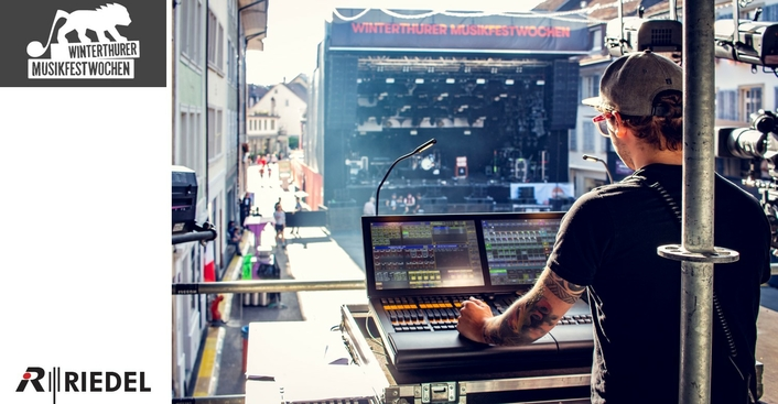 Riedel Bolero and MediorNet Provide Comprehensive and Wide-Ranging Comms Solution for World-Renowned Winterthurer Musikfestwochen