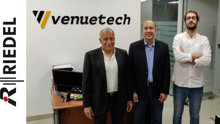 Riedel Communications Chooses Dubai's Venuetech to Distribute Full Product Line in UAE