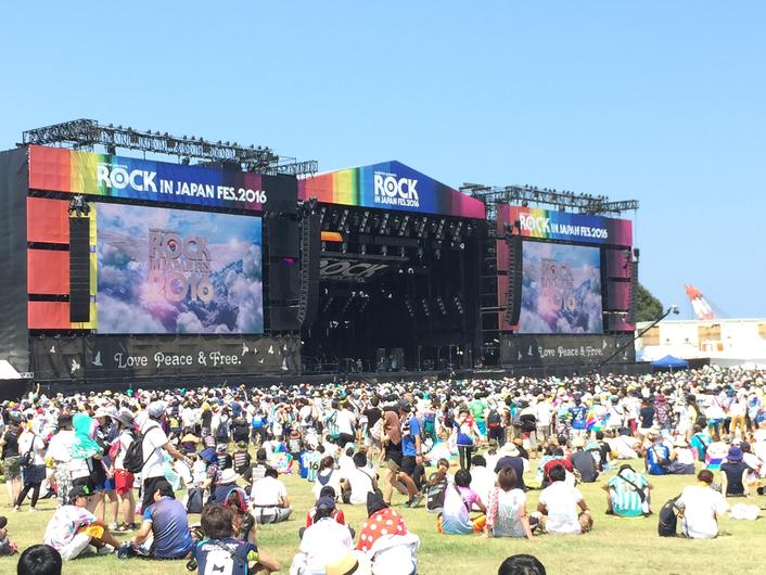 MLA ROCKS ONE OF JAPAN'S BIGGEST FESTIVALS