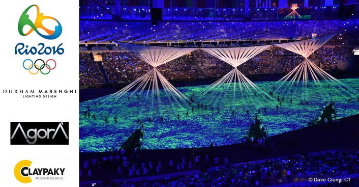 Clay Paky Fixtures Illuminate Opening and Closing Ceremonies of Rio Olympic Games