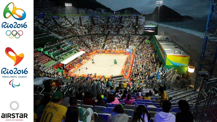 Airstar Lighting Solutions Reach New Heights at Rio Olympics and Paralympics