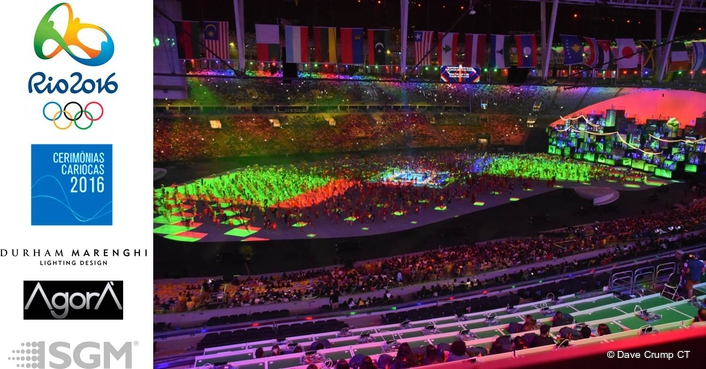 Durham Marenghi masterminds lighting for the Rio Olympics ceremonies
