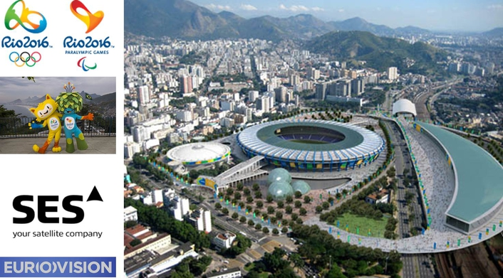 Eurovision partners with SES to broadcast Rio 2016 Olympics