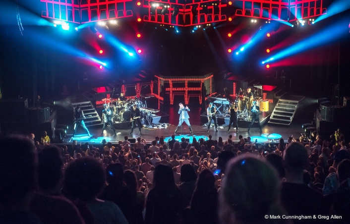 Entec provides extensive sound and lighting for Latin star's sold-out charity spectacles