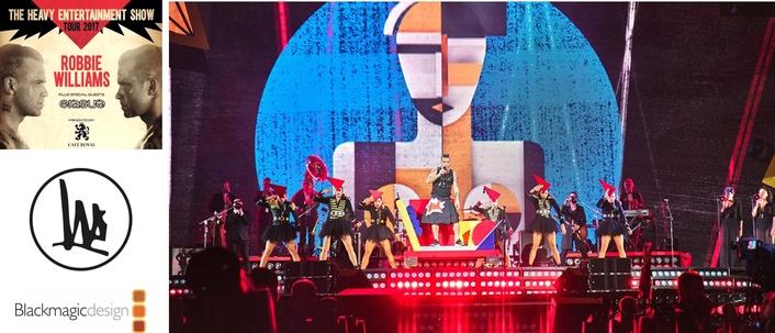 Robbie Williams' Documentary Tour Workflow Features URSA Mini Pro and DaVinci Resolve