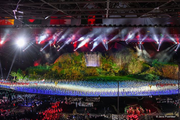 Robe Shines at 2018 Asian Games OC