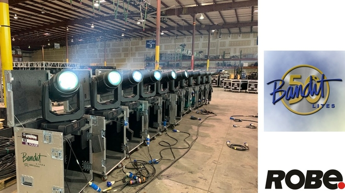 BANDIT LITES MAKES SUBSTANTIAL INVESTMENT IN ROBE FIXTURES FOR 2019 TOURING SEASON