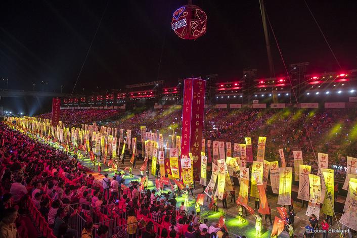 Robe Celebrates Singapore Chingay Spectacle