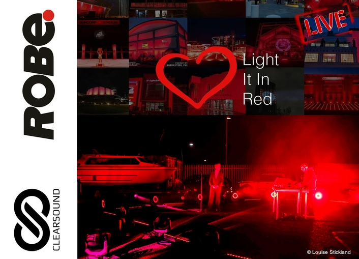 Robe Hearts it in Red for Livestream Event