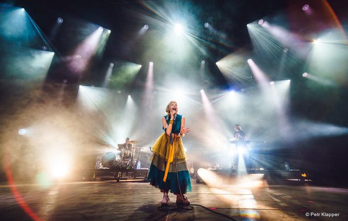 Multi Coloured Robe at Ostrava Festival