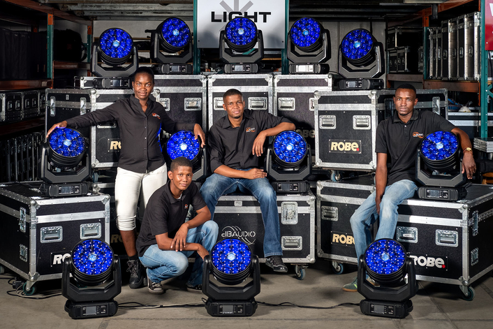 dB Audio Namibia Makes Some Noise  with new Robe Spiiders