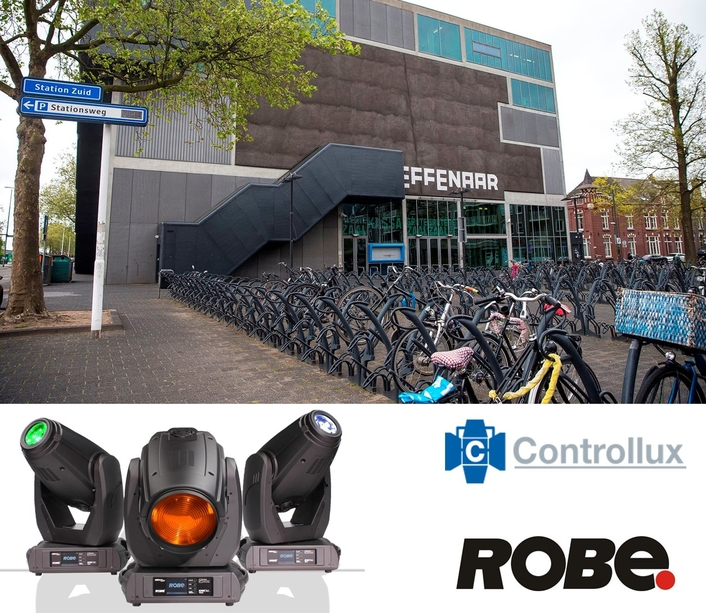De Effenaar Upgrades with  Robe DL Series Fixtures