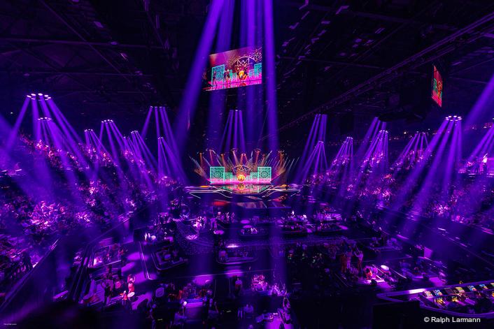 Robe Shimmers for Henk-Jan van Beek's Eurovision Lighting