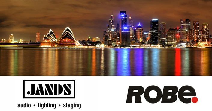 ROBE lighting s.r.o. is delighted to announce the appointment of Jands as the Australian and New Zealand distributor for ROBE and Anolis lighting brands
