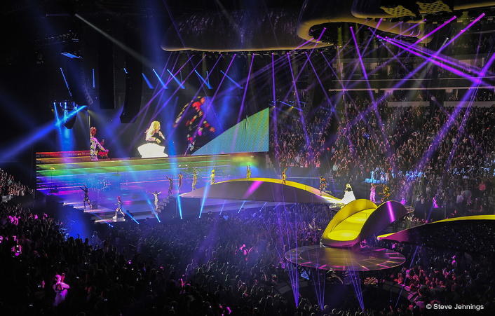 Robe Helps Create Perfect Illusion for  Lady Gaga Tour
