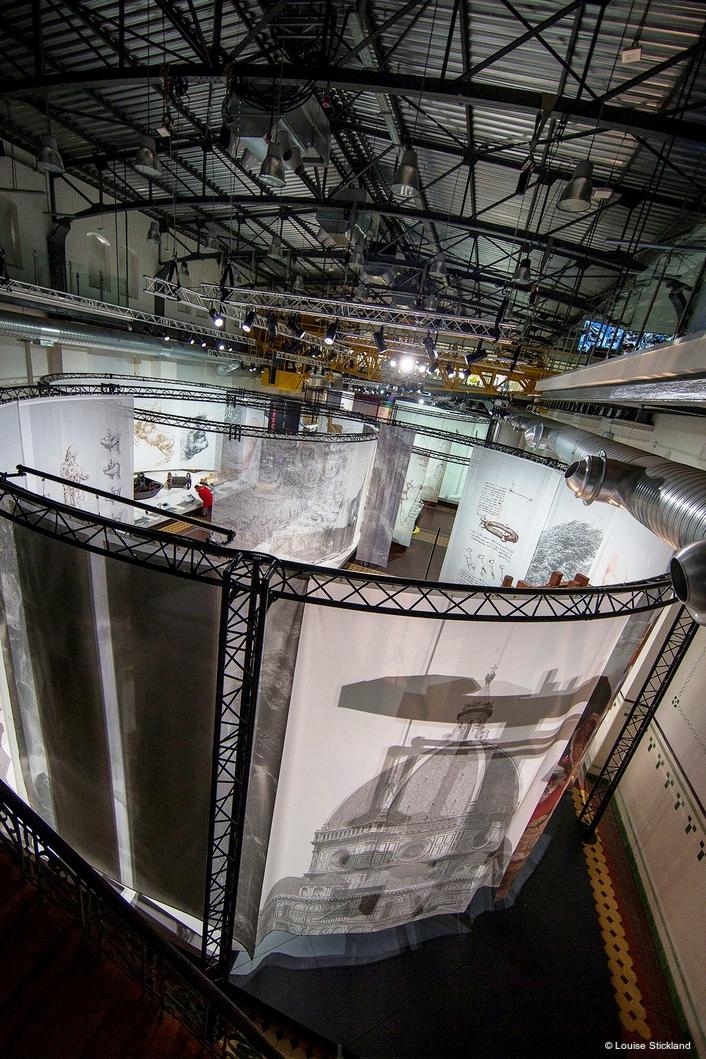 Leonardo da Vinci Exhibition is Powered  by ParFection