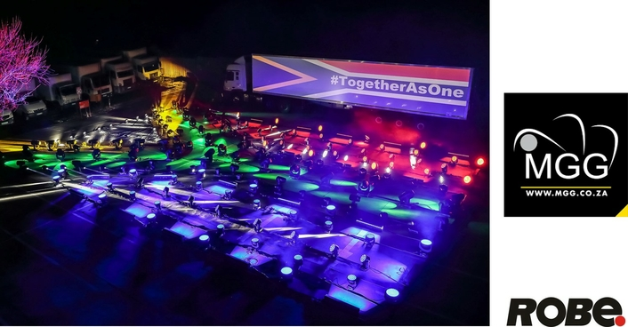 MGG Lights the Sky in Johannesburg