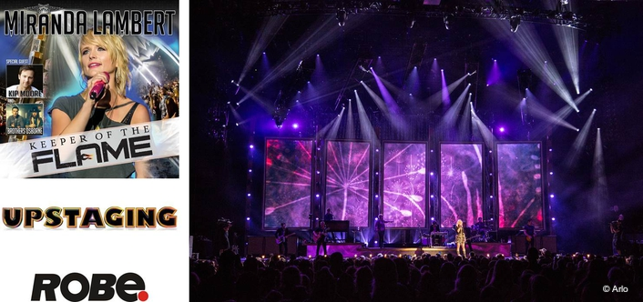 Robe Helps Keep the Flame for  Miranda Lambert Tour