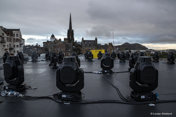 """Robe iPointes for """"My Light Shines On""""  in Edinburgh"""