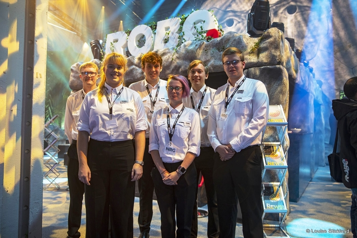 NRG takes on the adventure of a lifetime at PLASA 2018