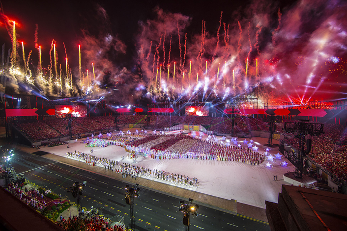 Riedel Solutions Support Communications for 50th National Day Parade