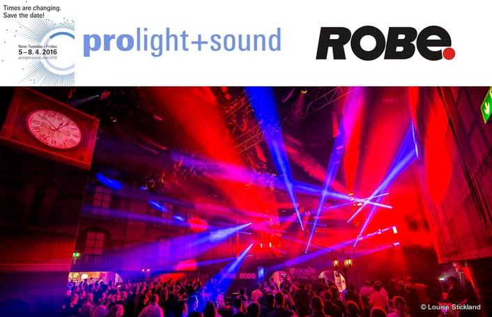 The Robe Scenic Experience Rocks  at Prolight 2016