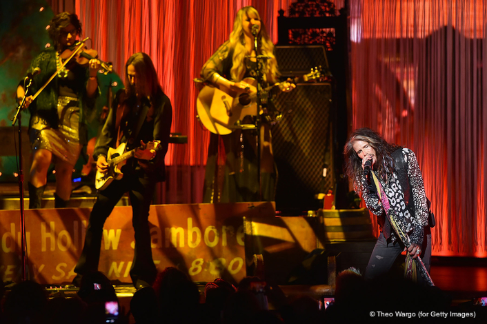 Robe BMFLs Out On a Limb with Steven Tyler