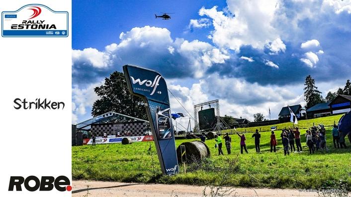 Robe Gets a drive at WRC Rally Estonia