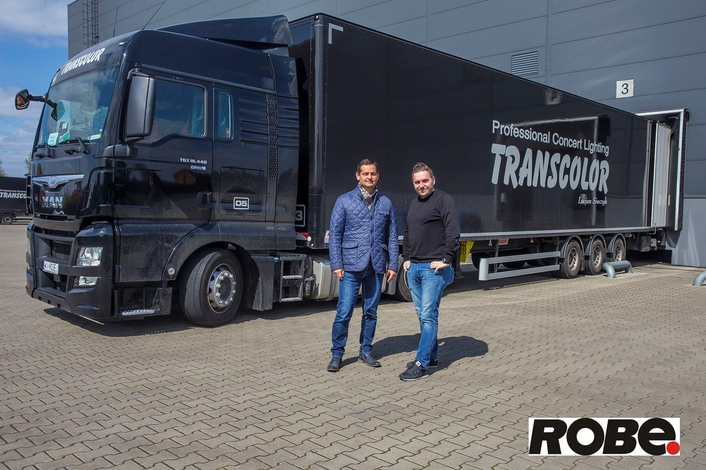TRANSCOLOR Invests in More Robe