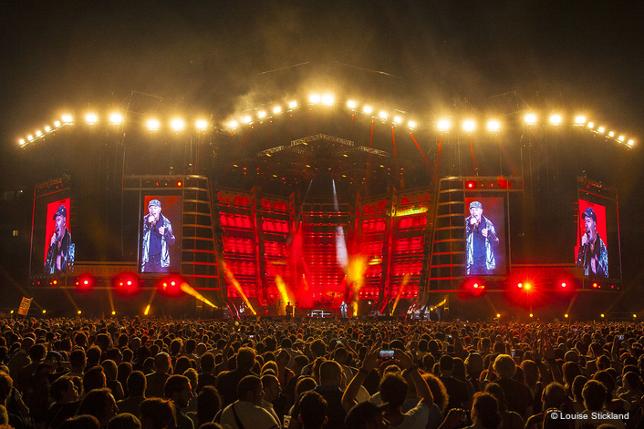 Italian superstar Vasco Rossi is currently engaged in his summer Live Kom 15 stadium tour