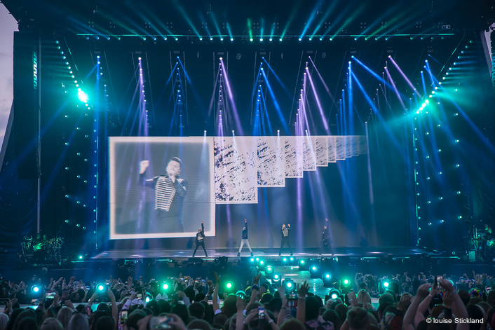 Robe in A World of Its Own with Westlife