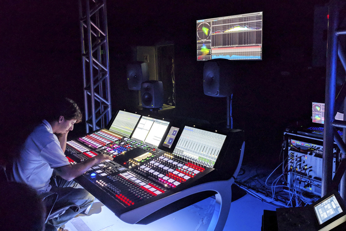 3D Rock in Rio with Lawo's mc²96 Grand Production Console