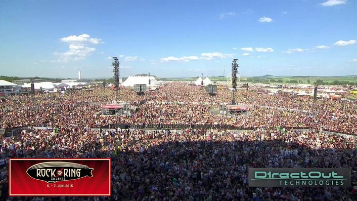 Some 90,000 people descended on Rock am Ring in Mendig in western Germany last month for the festival's 30th anniversary