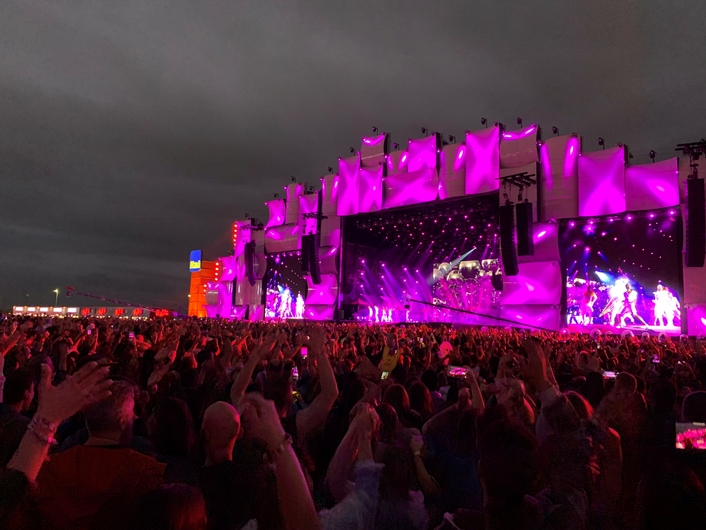 Rock in Rio: GloboSat successfully performing 4k / Immersive Remote Production with Lawo V__matrix and mc² consoles