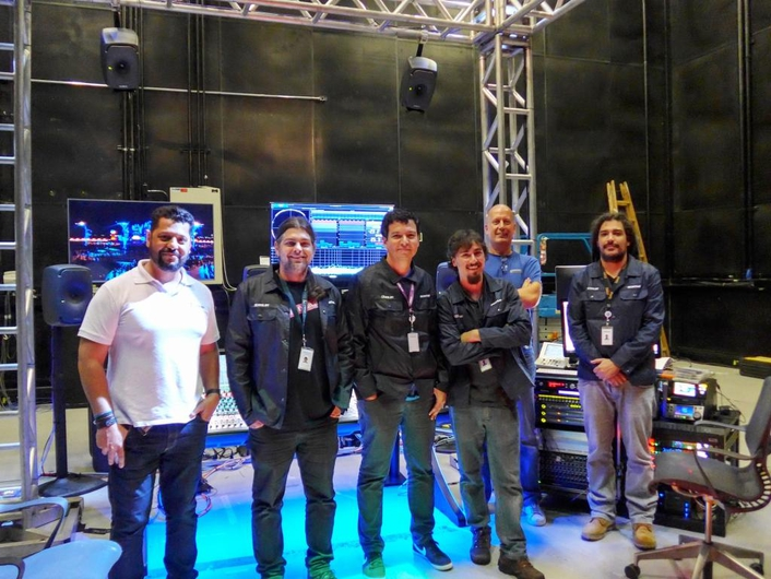GLOBOSAT chooses Genelec for Rock in Rio Atmos Broadcasts