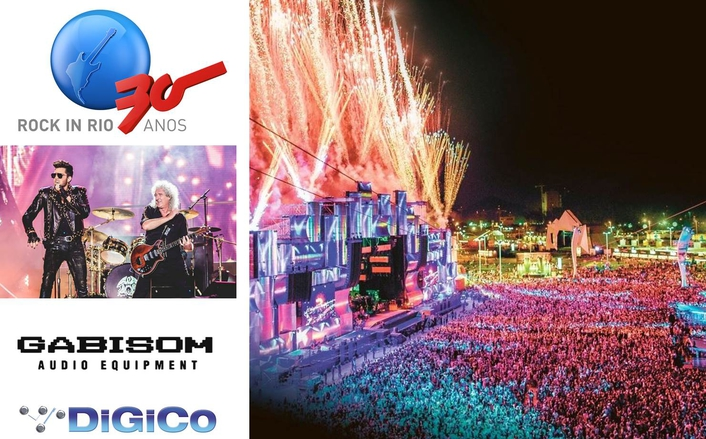 Sound Designer and FOH System Engineer for the World Stage at the Rio de Janeiro event was Gabisom's Peter Racy