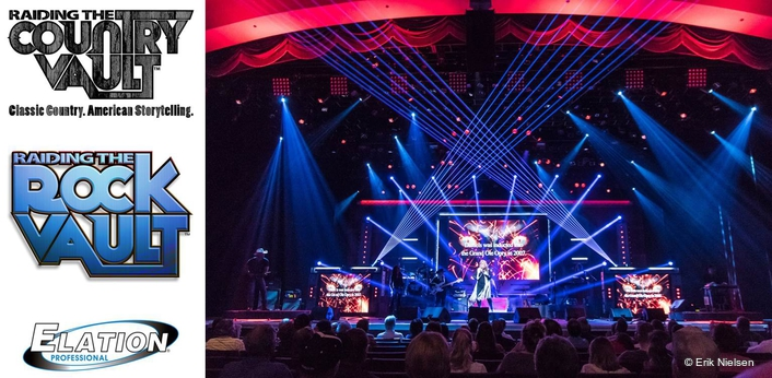 Elation lights popular raiding the rock vault and for Production vault