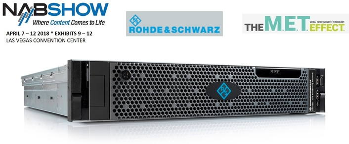Rohde & Schwarz at the IP Showcase at NAB 2018