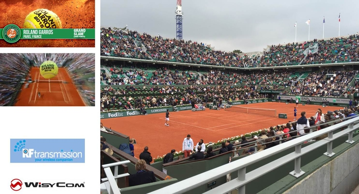 WISYCOM SERVES UP CUSTOM RF SOLUTION TO ENSURE  FAULT-FREE BROADCAST COVERAGE OF 2016 FRENCH OPEN