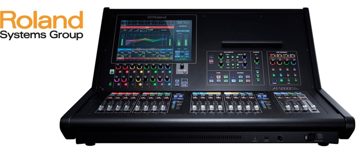 Roland launch compact M-5000C Live Digital Mixing Console