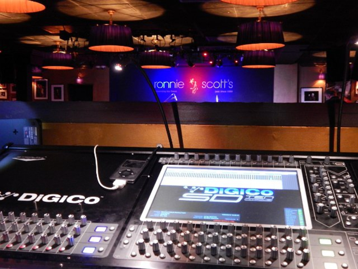 All That Jazz  Ronnie Scott's goes digital with Autograph and DiGiCo