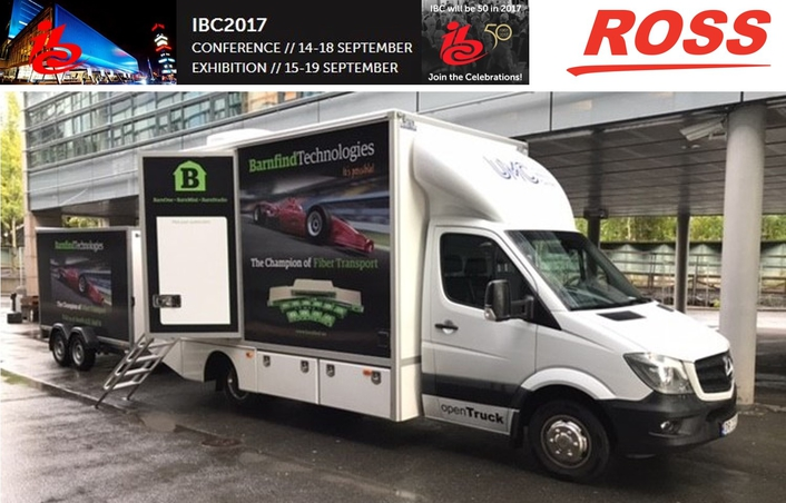 Ross Video and Barnfind Collaborate on openTruck Blueprint for IBC
