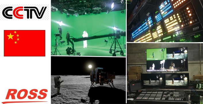 """Ross Video Supports CCTV's UHD """"Mission to The Moon"""""""