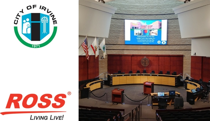 City of Irvine Chooses Ross Video for Expanded Council Content