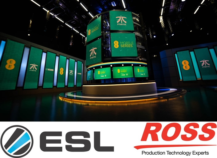 ESL Chooses Ross Video XPression Graphics for EE Mobile Series Clash Royale Finale