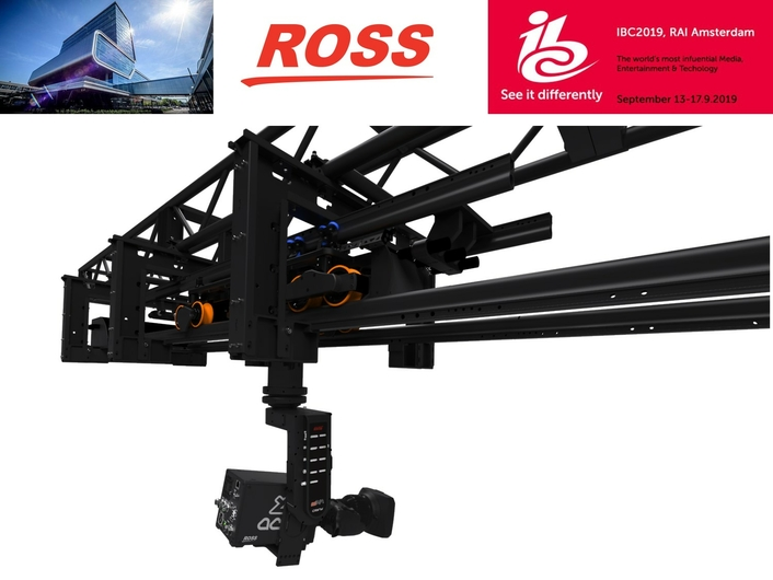 Ross to Display Complete Camera Motion System Range at IBC 2019